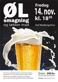 Ølsmagning i Viuf 2014