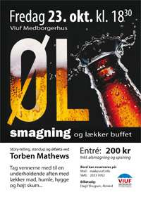 Ølsmagning i Viuf 2015