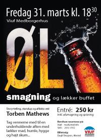 Ølsmagning i Viuf 2017