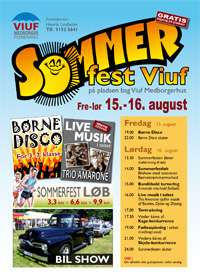 Sommerfest i Viuf