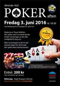Poker aften i Viuf