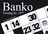 Banko i Viuf Medborgerhus kl. 19.00